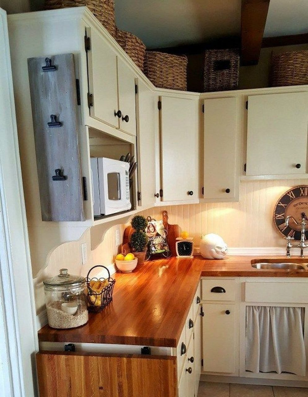 44 Genius Small Cottage Kitchen Design Ideas Kitchen Small