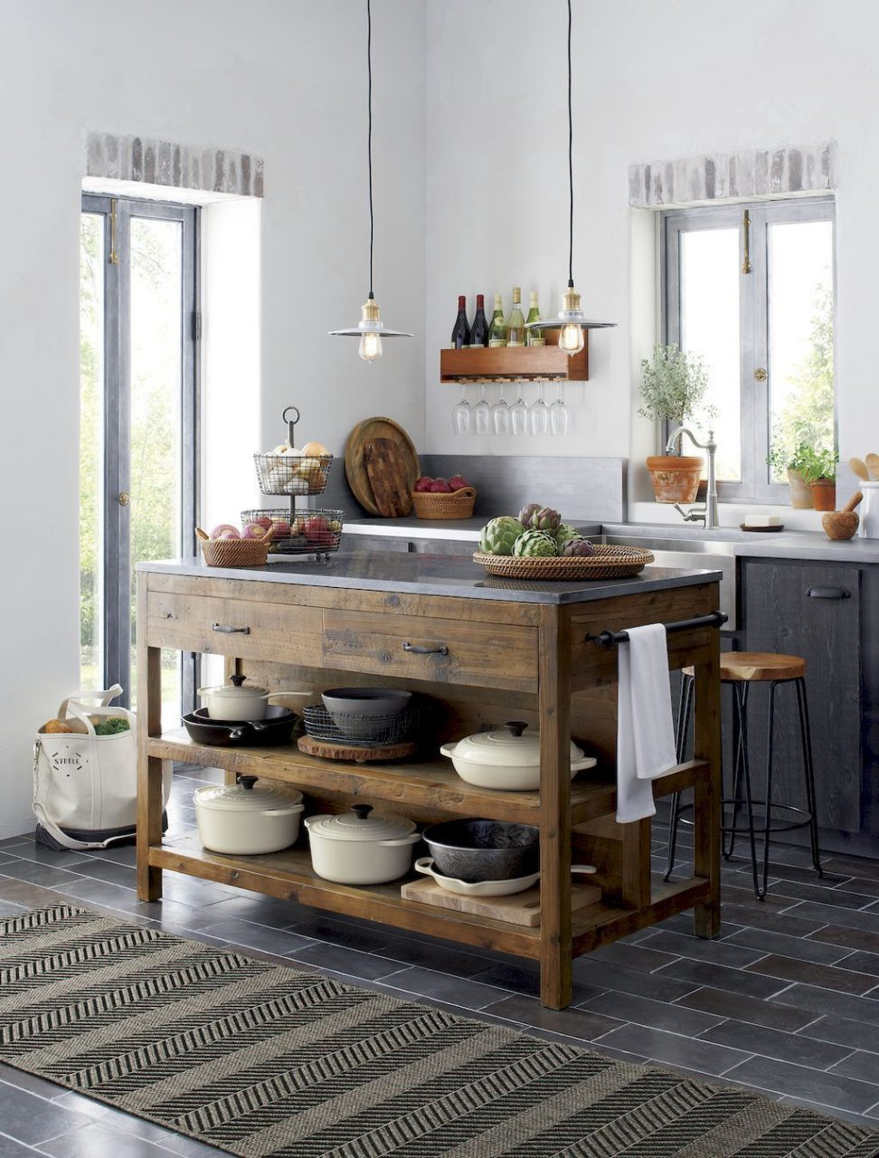 44 Wonderful Ideas To Design Your Rustic Kitchen 42 Interiors