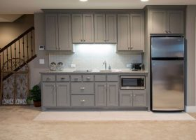 Small Basement Kitchenette Ideas