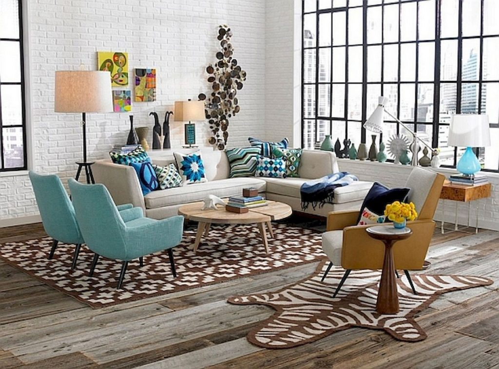 45arresting Retro Living Room Decorating Ideas On A Budget Living