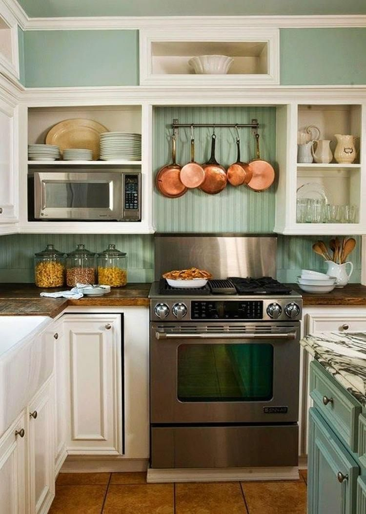 49 Smart Small Cottage Kitchen Design Ideas Kitchens Pinterest