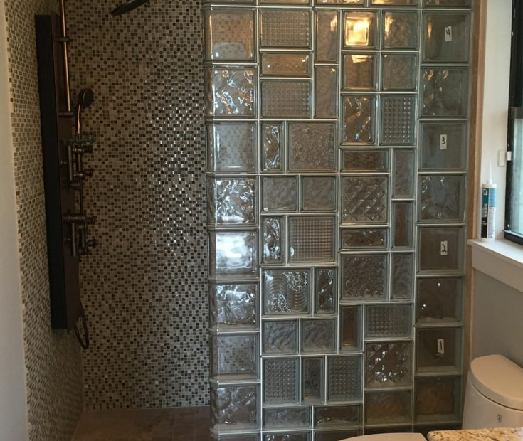 5 Amazing Glass Block Shower Designs With Personality Bathroom