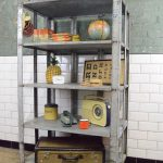 Industrial Metal Shelving Kitchen