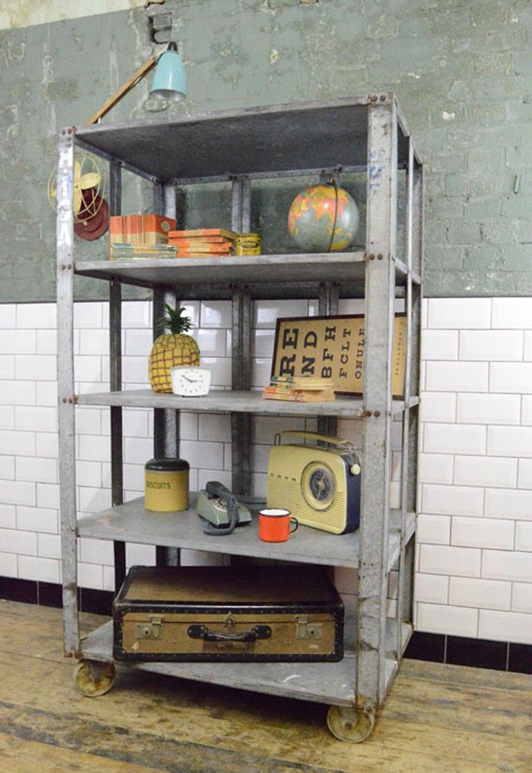 5 Must Have Industrial Trolleys Living Room Ideas Vintage