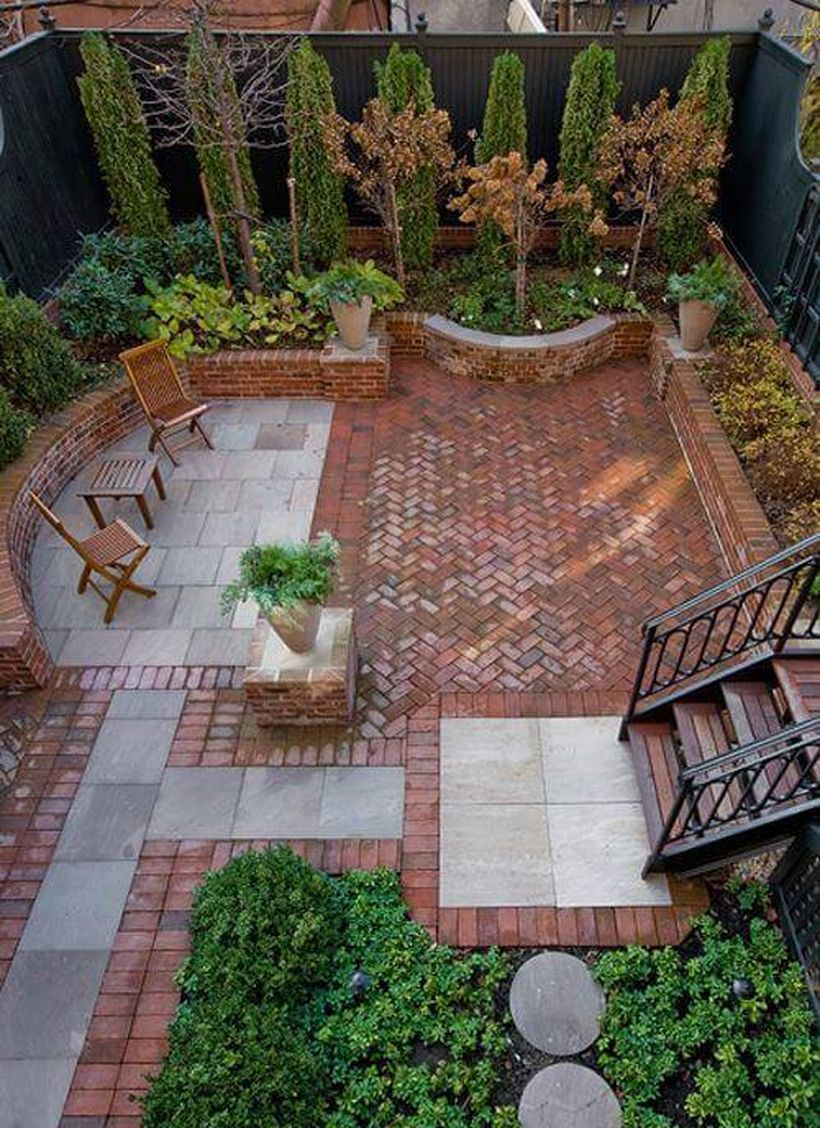 50 Beautiful Small Patio Design Ideas Garden Brick Patios Small