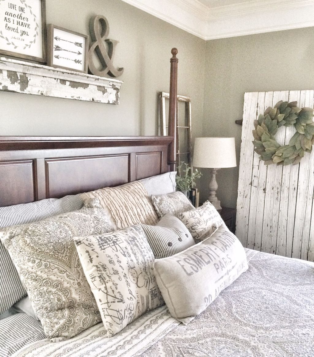 50 Classic And Vintage Farmhouse Bedroom Ideas Home Bedroom