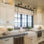 Modern Rustic Kitchen White