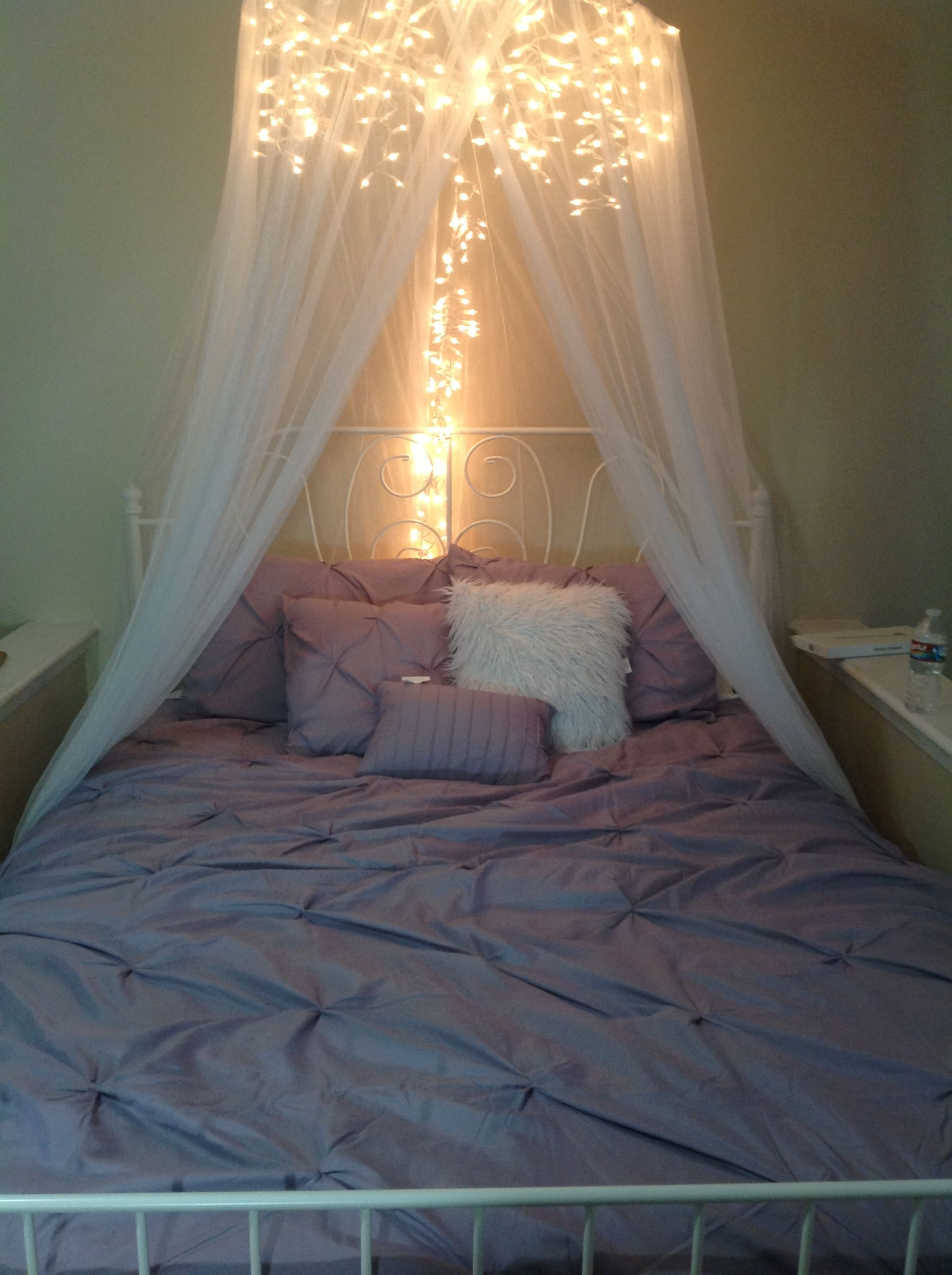 7 Dreamy Diy Bedroom Canopies For The Home Bed Lights Bed