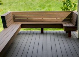 Patio Deck Bench Seating Ideas