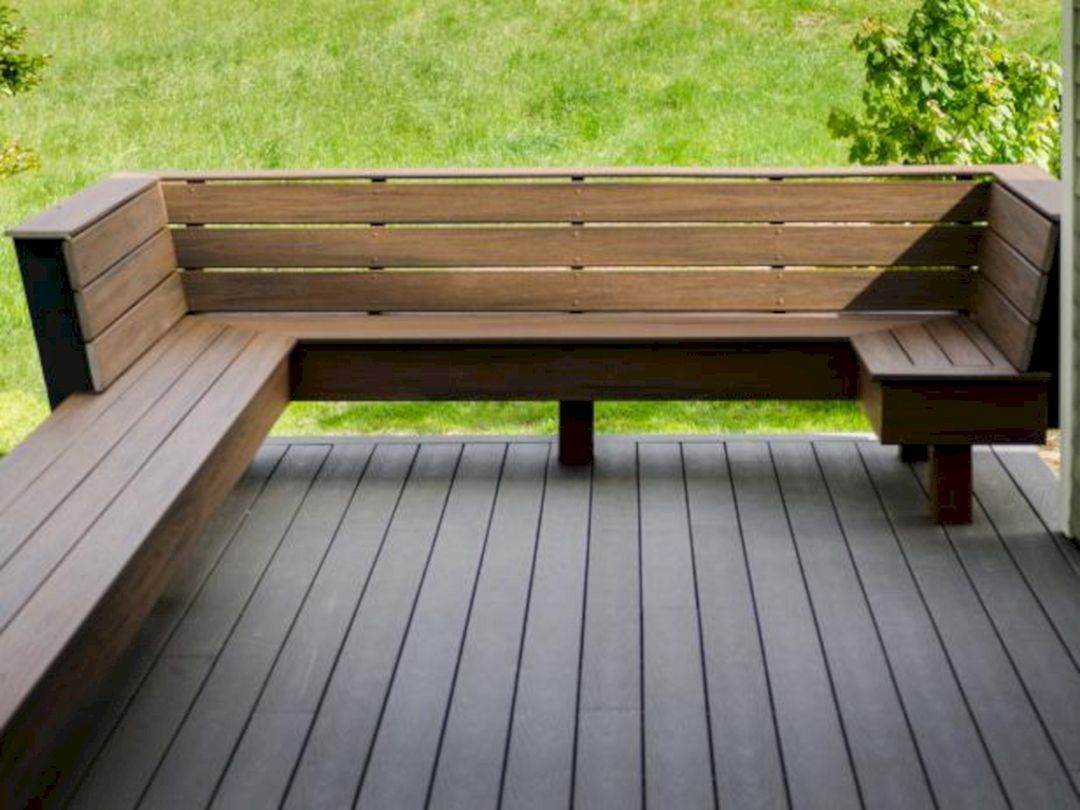 8 Best Deck Bench Seating Design Ideas For Your Backyard Design