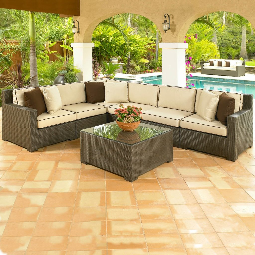 8 Piece Sectional Sofa Outdoor Wicker Sectional Sofa