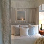 A View Into The Canopied Bed In Phoebe Howards Bedroom Designer
