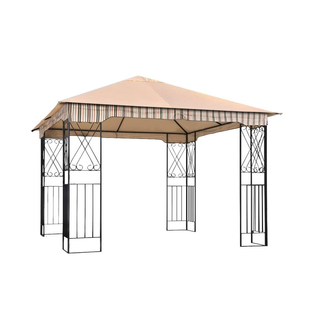 Abccanopy Garden Gazebo Replacement Canopy 10 X 10 Soft Top For 10