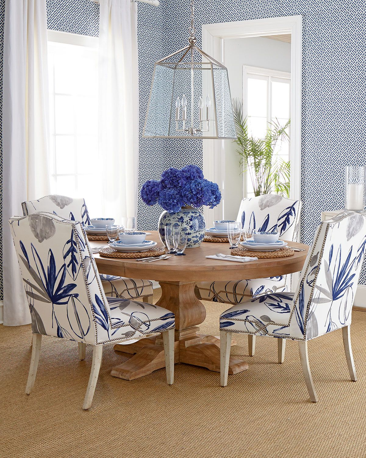 Allison Botanical Dining Chair In 2018 Dining Room Pinterest