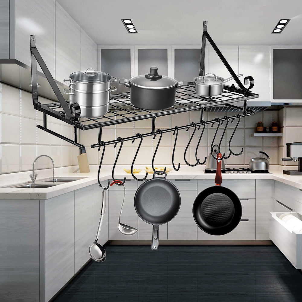 An Image Of A Kitchen Pot Rack That I Came Across On Ebay
