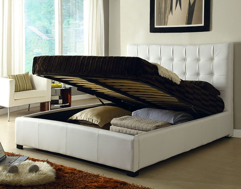 Athens White Queen Size Bed Athens At Home Usa Modern Beds Comfyco