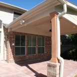Back Porch Roof Ideas Extending A Over Deck Design Drawings