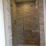 Bathroom Perfect Frameless Shower Glass Door For Small Space