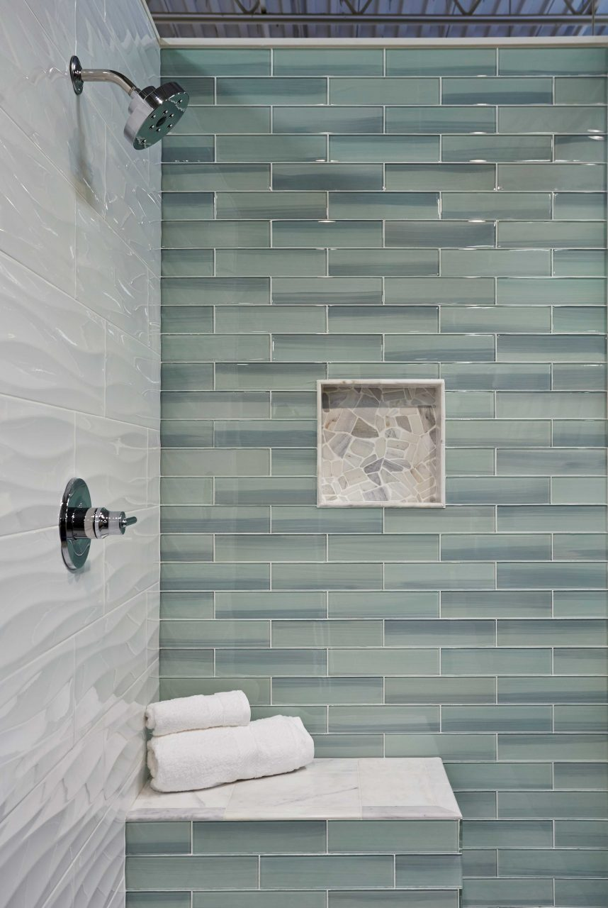 Bathroom Shower Wall Tile New Haven Glass Subway Tile Subway
