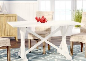 Distressed Farmhouse Dining Table