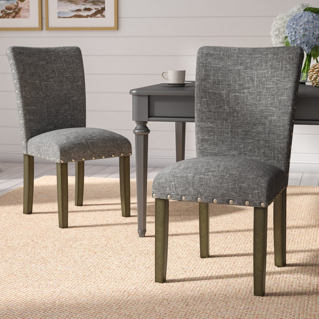 Beachcrest Home Saxis Classic Parsons Upholstered Dining Chair
