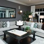 Grey Family Room Design Ideas