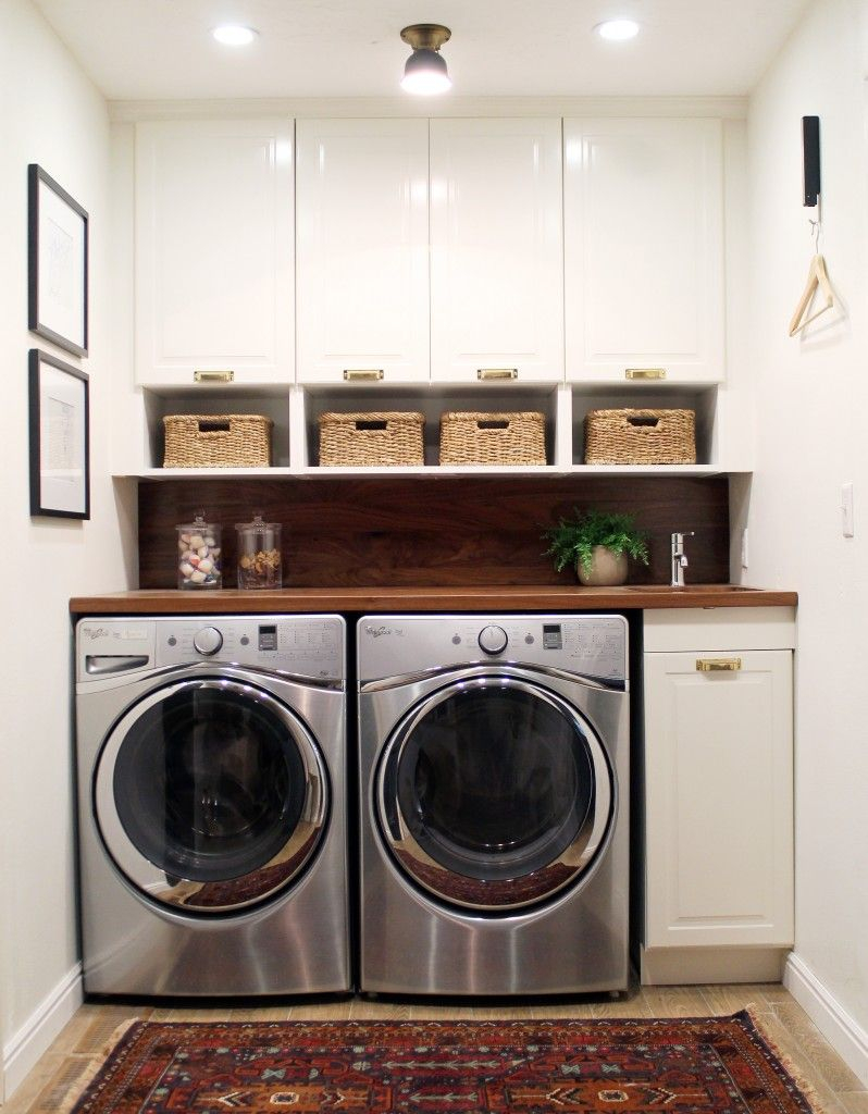 Before And After A Bathroom Turned Laundry Room Best Of The