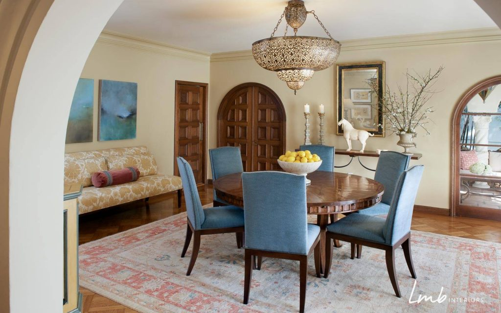 Before And After Mediterranean Dining Room Dazzles San Francisco
