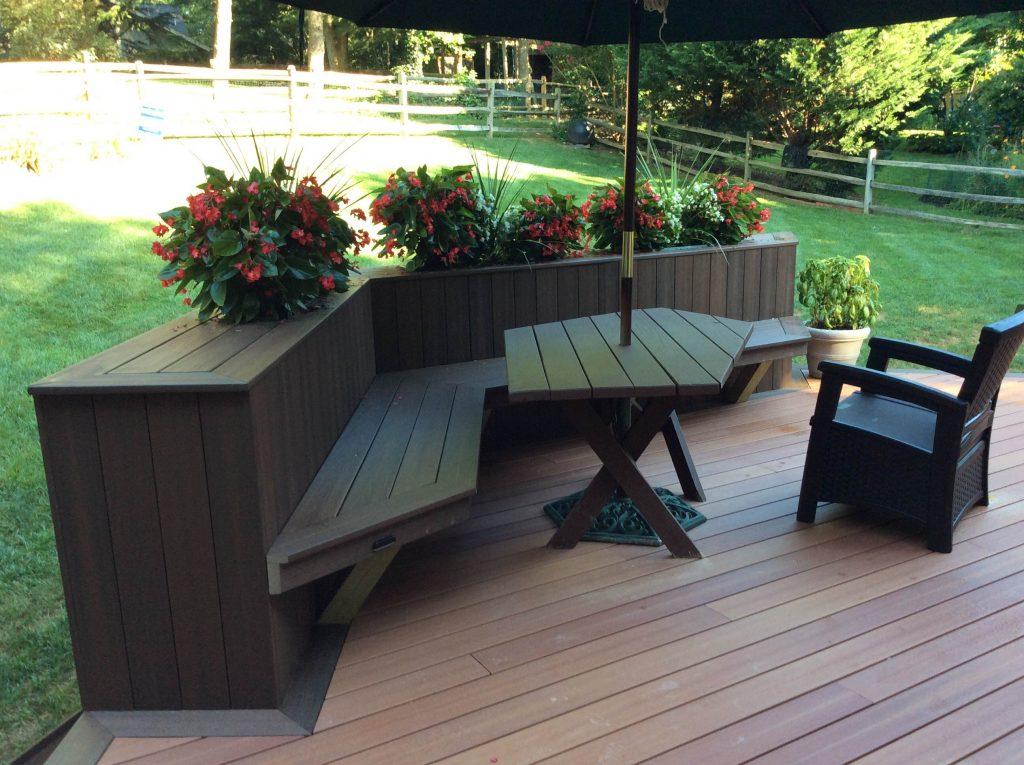 Bench Bench With Planter Box Ana White Planter Bench Diy Projects