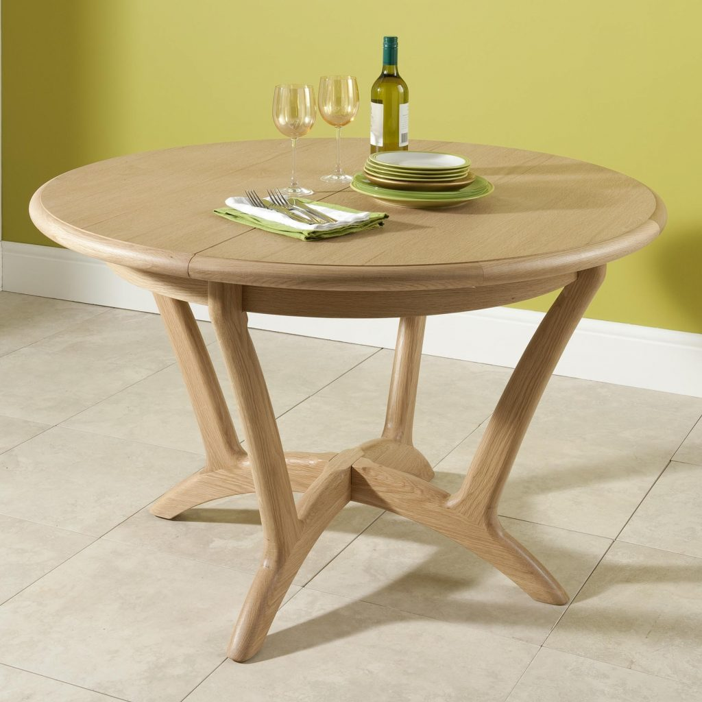 Bergen Round Extending Dining Table Tr Hayes Furniture Store Bath