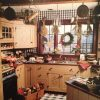 Primitive Rustic Country Kitchen Decor