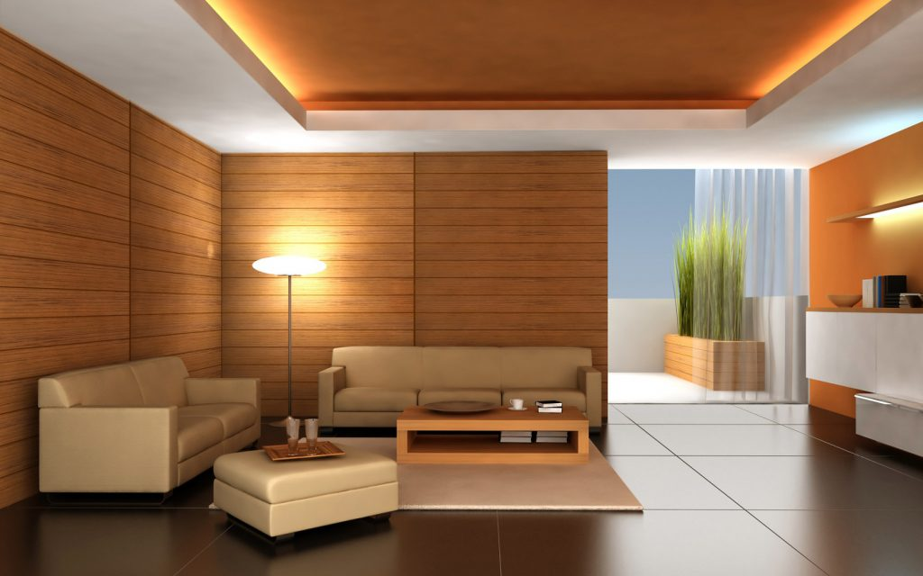 Best Simple Living Room Apartment Interior Design Pushing Brown