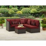 Better Homes Gardens Rush Valley 3 Piece Outdoor Sectional