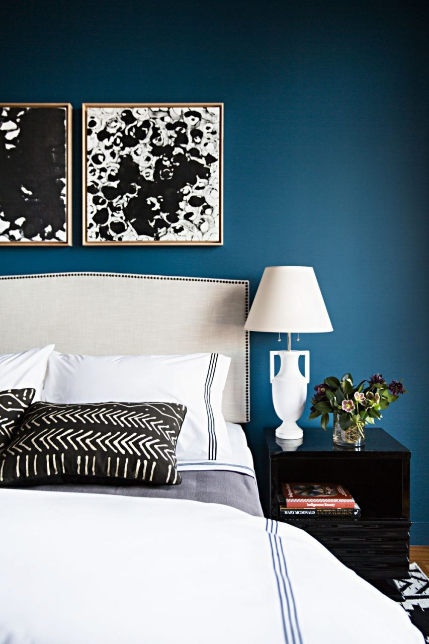 Blue Decorating Turquoise Charming Bedroom Brown Gray Walls Room