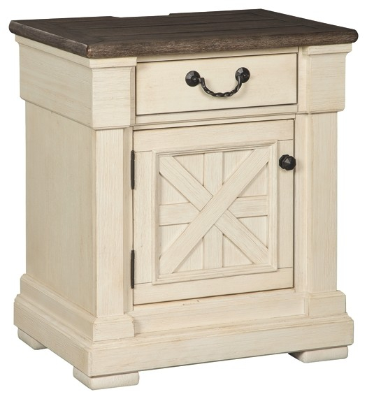 Bolanburg Antique White One Drawer Night Stand B647 191