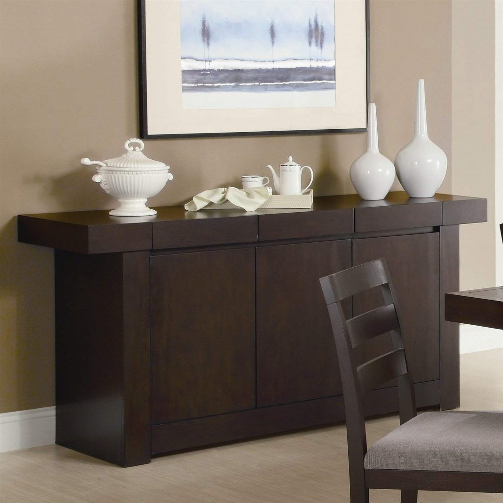 Buy Modern Dining Room Buffet Sideboard Server Table Cabinet In