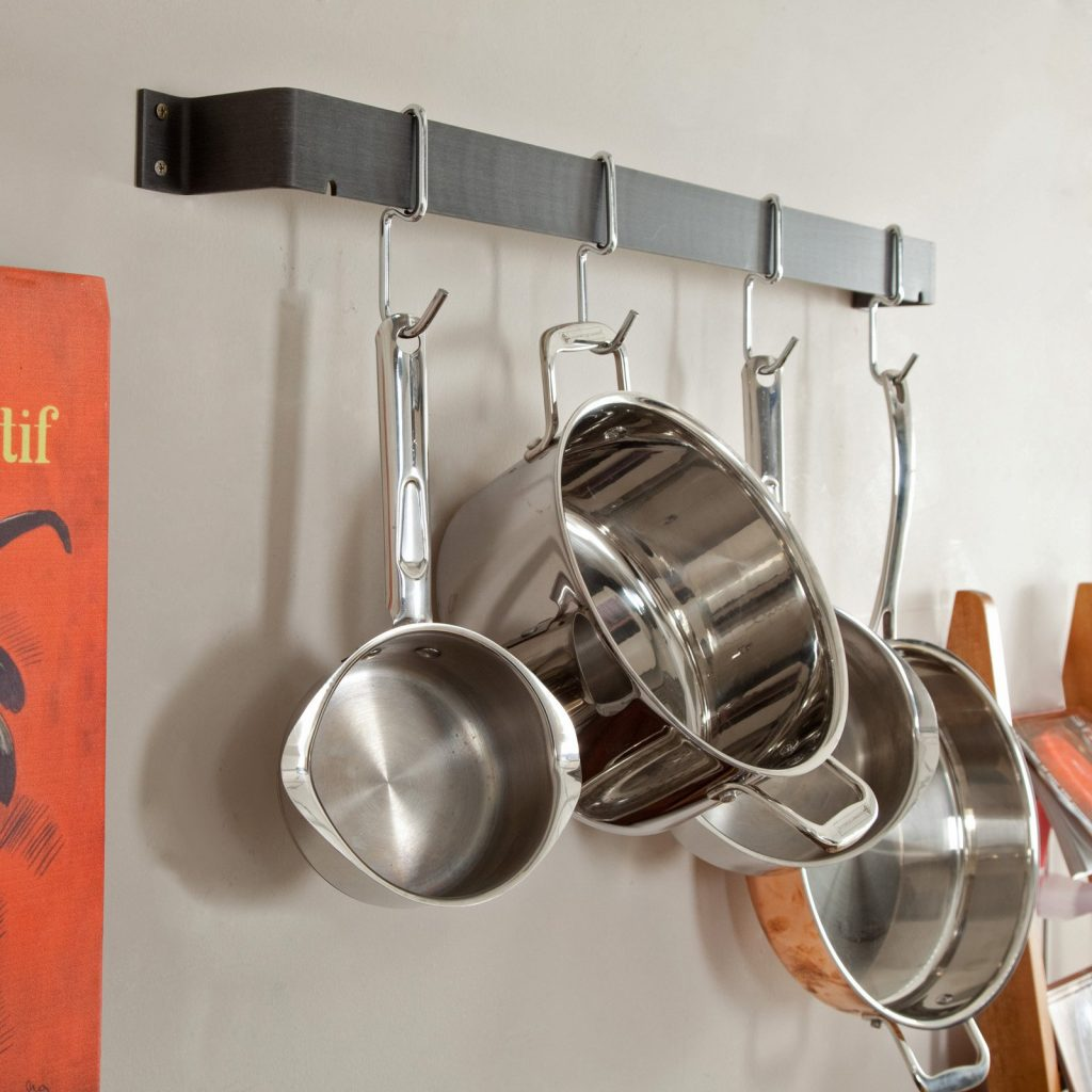 Calphalon 32 In Straight Wall Pot Rack Walmart