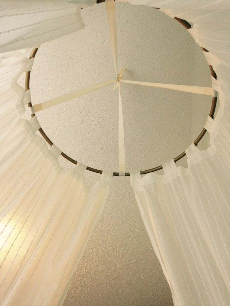 Canopy Hoop Diy The Entire Project Took Me Under An Hour From