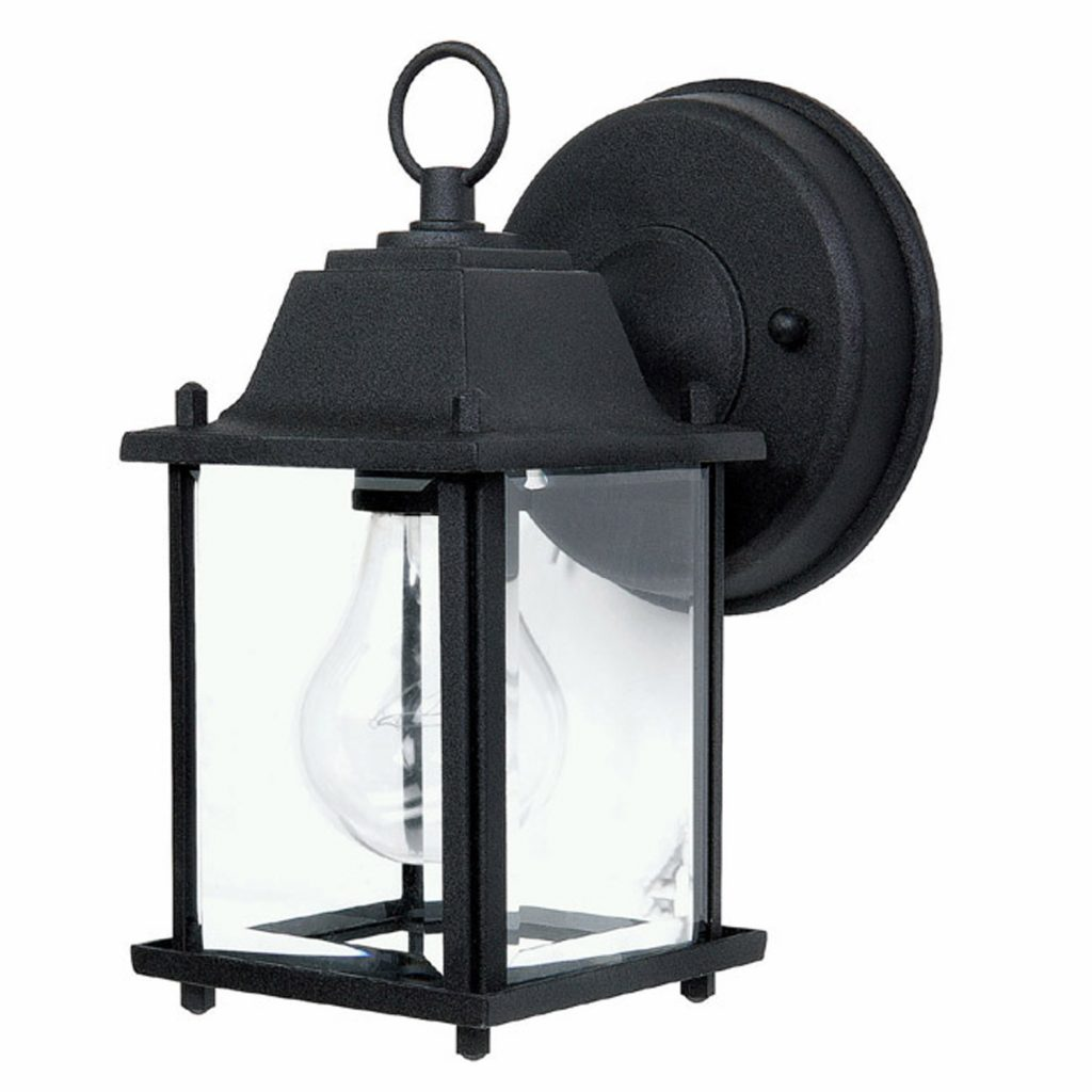 Capital Lighting 9850bk Black Capital Outdoors 1 Light Outdoor Wall