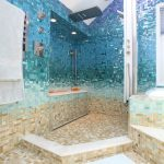 Caribbean Bathroom Tile Design