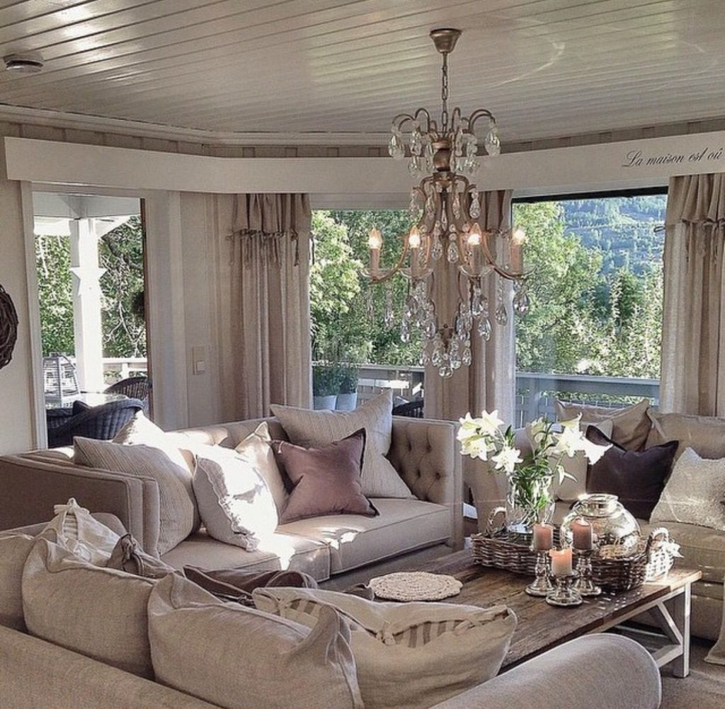 Chic Details For Cozy Rustic Living Room Dcor Amazing Interiors