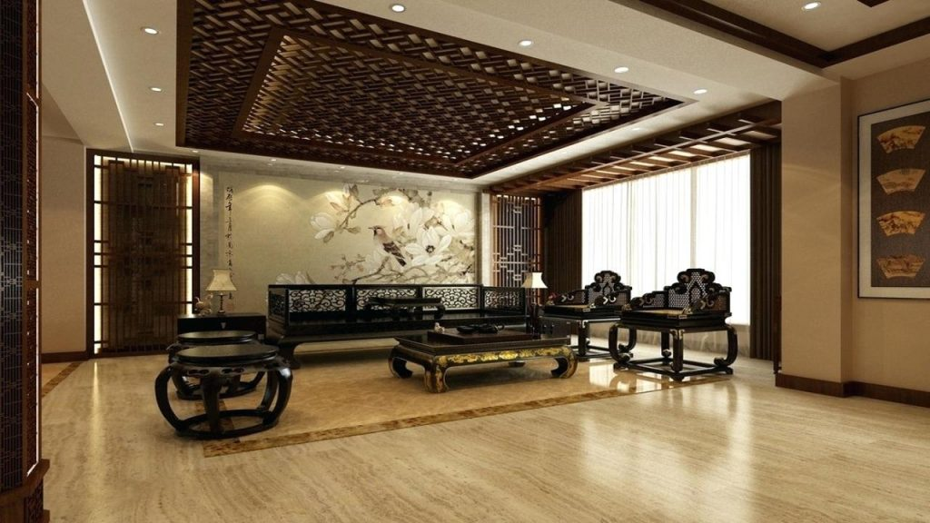 Chinese Living Room Living Room Wall Design China Sitting Room