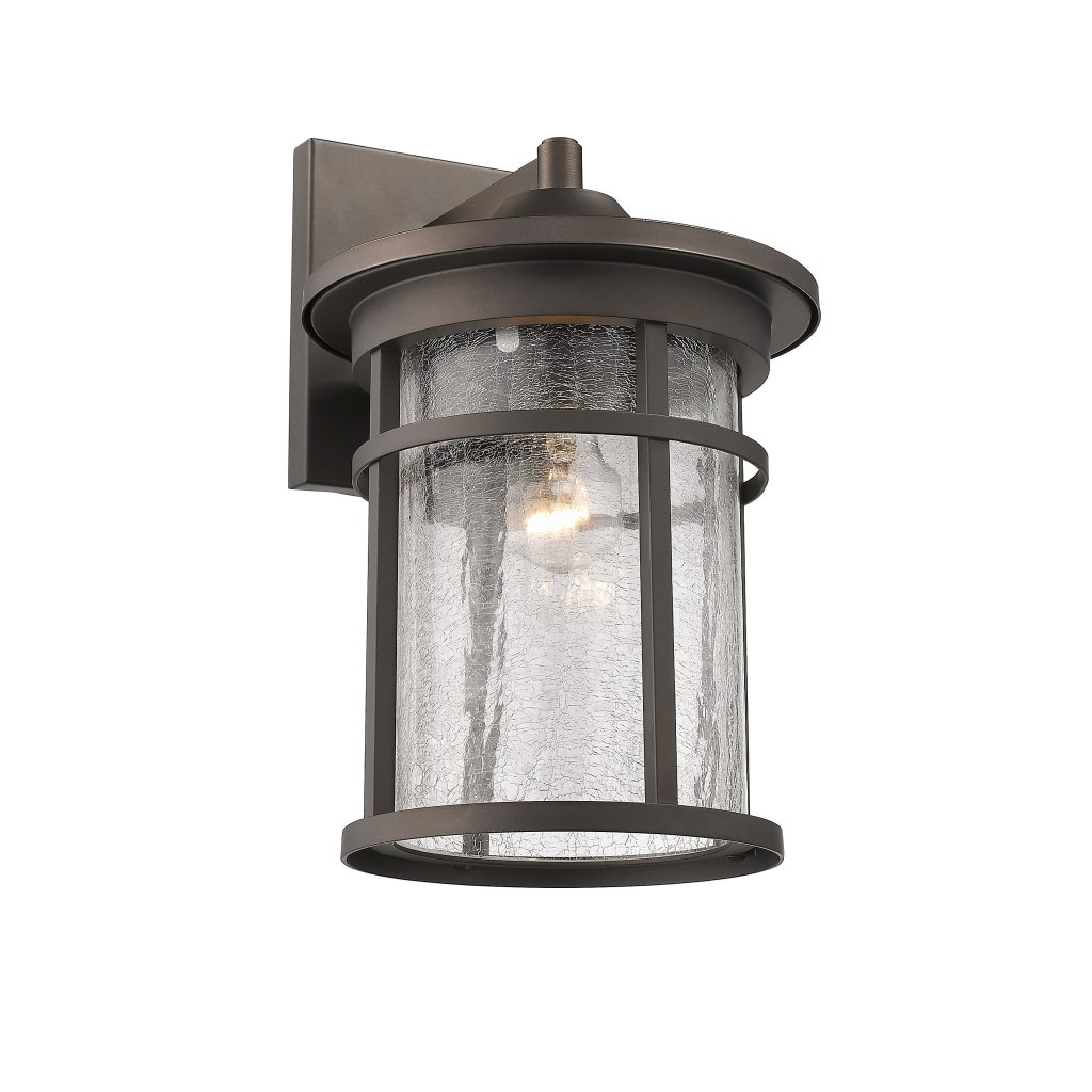 Chloe 1 Light Oil Rubbed Bronze Outdoor Wall Sconce 602573782224 Ebay