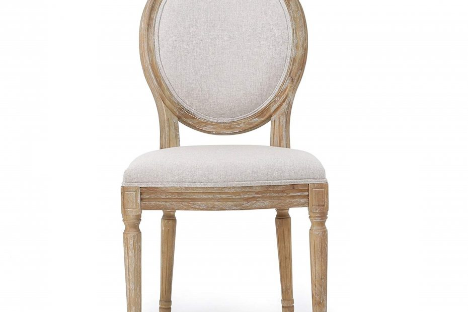Christopher Knight Home 300258 Phinnaeus Fabric Dining Chair Set Of
