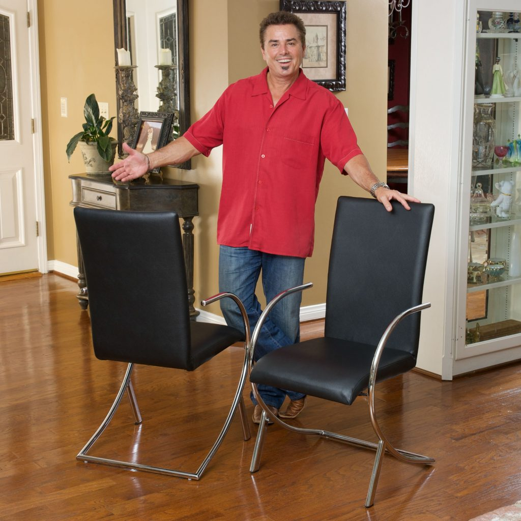 Christopher Knight Home Markson Black Leather Barstool Christopher