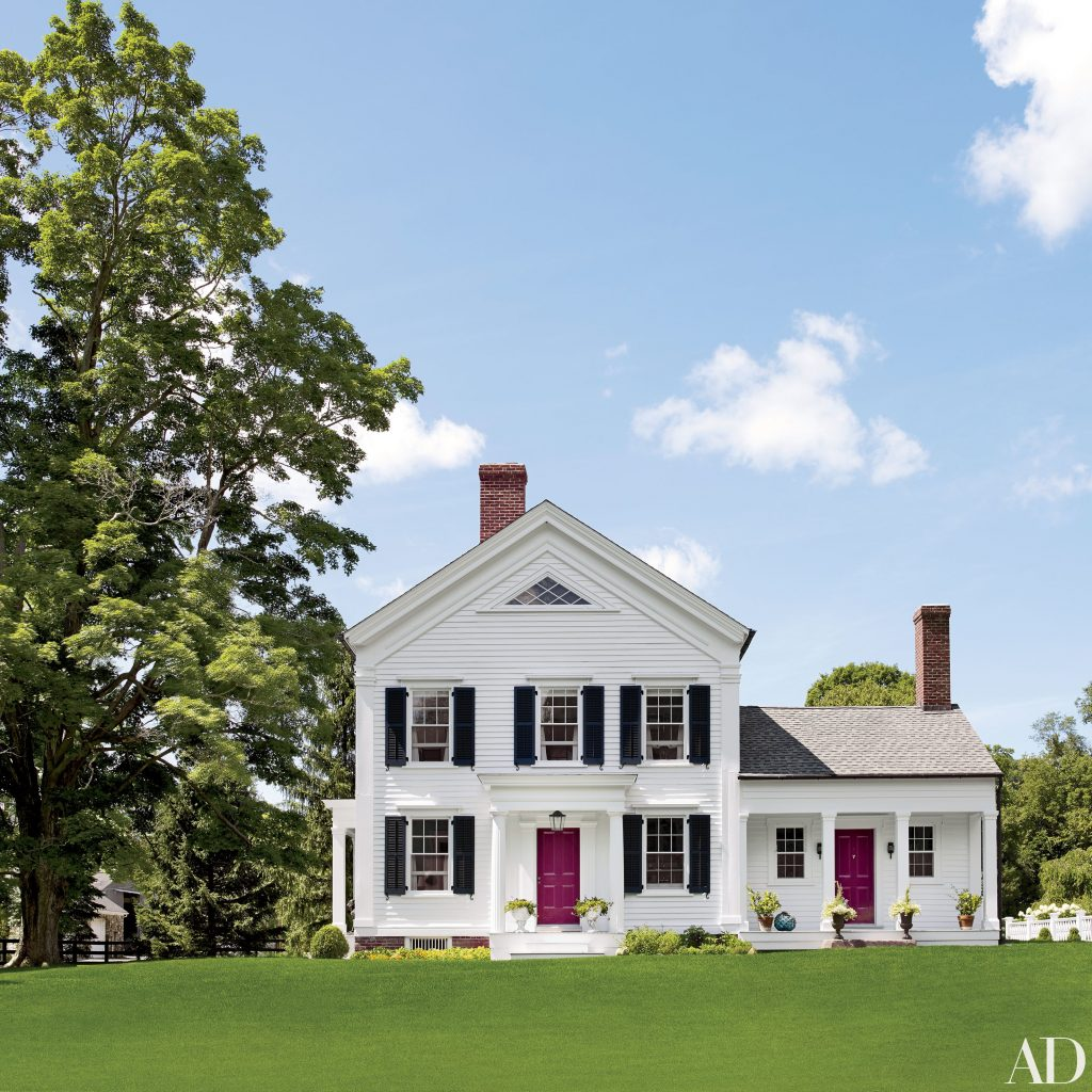 Christopher Spitzmiller Devises A Cheerful Home In Upstate New York