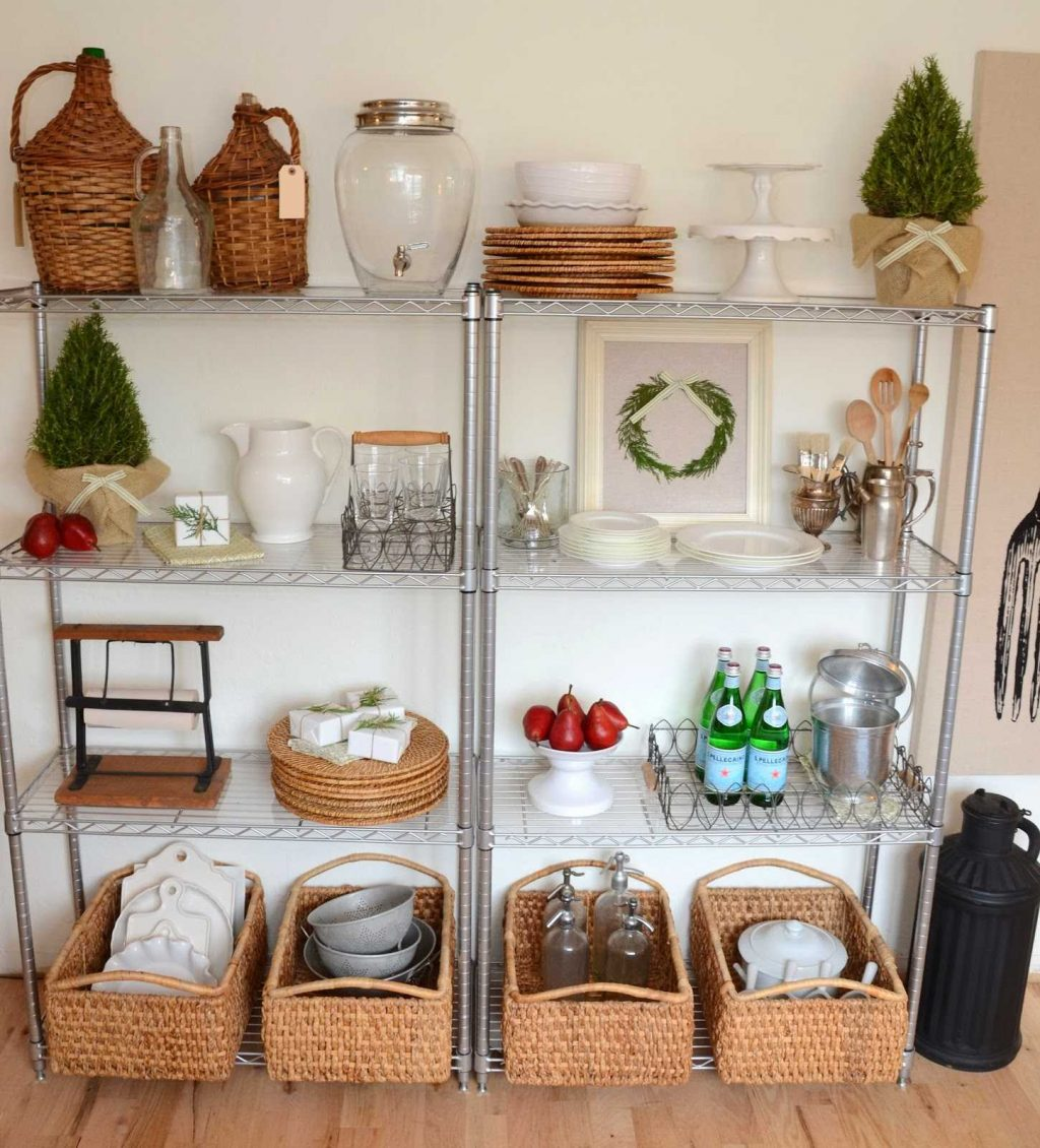 Chrome Shelving For Kitchen Unit Bathroom Home And Charming Storage