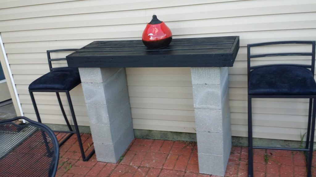 Cinder Block Bar In 2019 Furniture Cinder Block Furniture