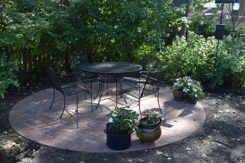 Circular Patio Under Tree Google Search Ideas For Outside