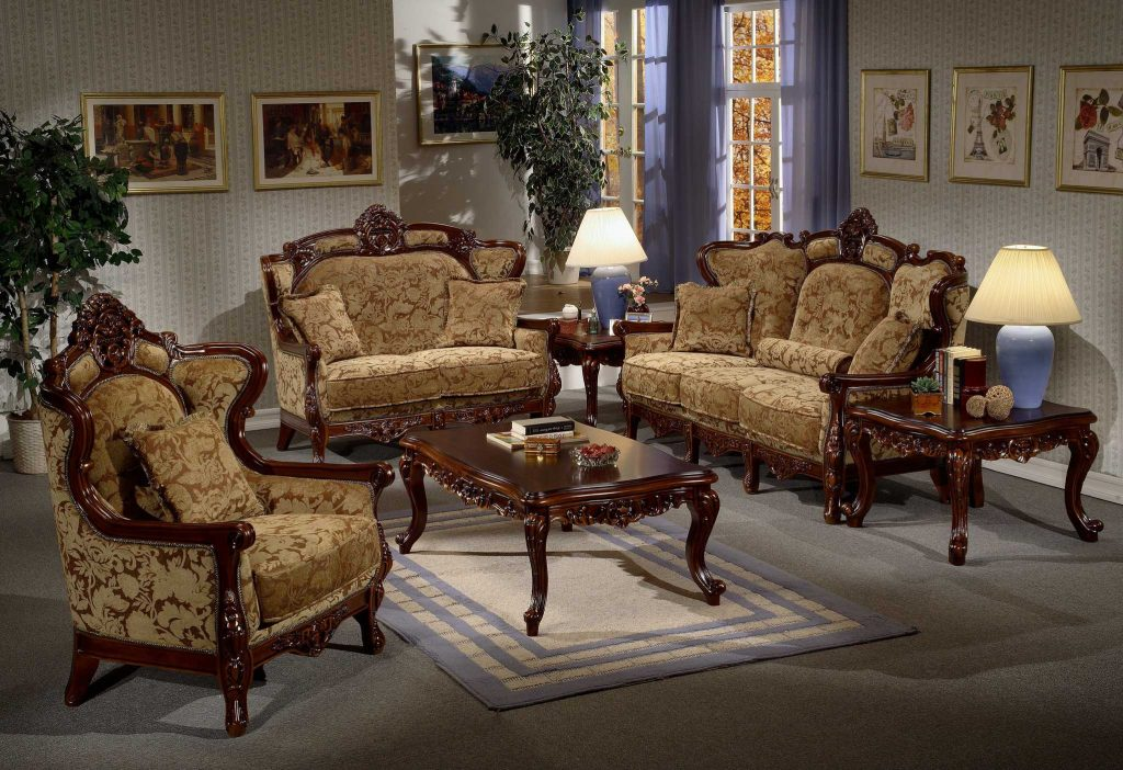 Classic Italian Style Living Room Furniture Ideas Comes With Gray